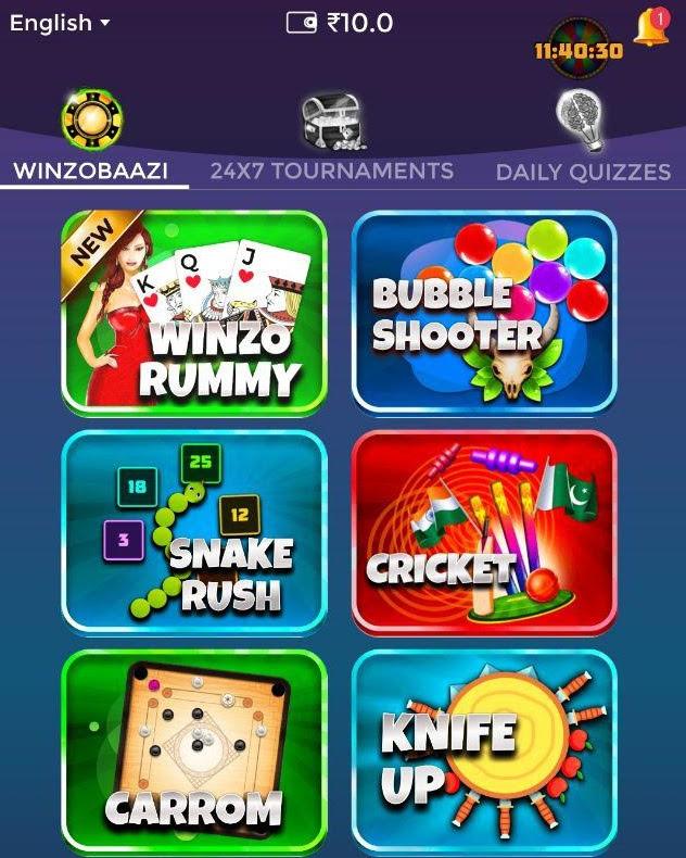 winzo app winzobaazi